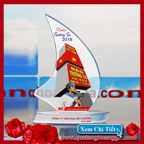 Pha Lê Cánh Buồm Cong - Kỷ niệm chương pha lê 5