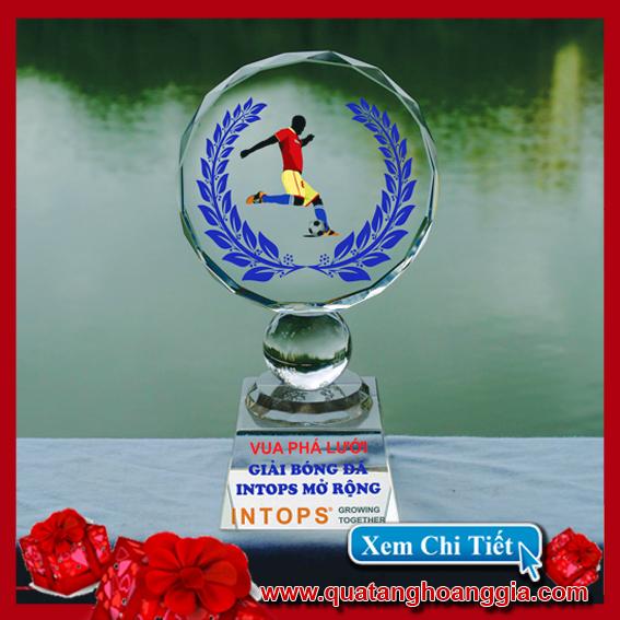 Pha Lê Mặt Nguyệt Đế Vuông - Kỷ niệm chương pha lê 18