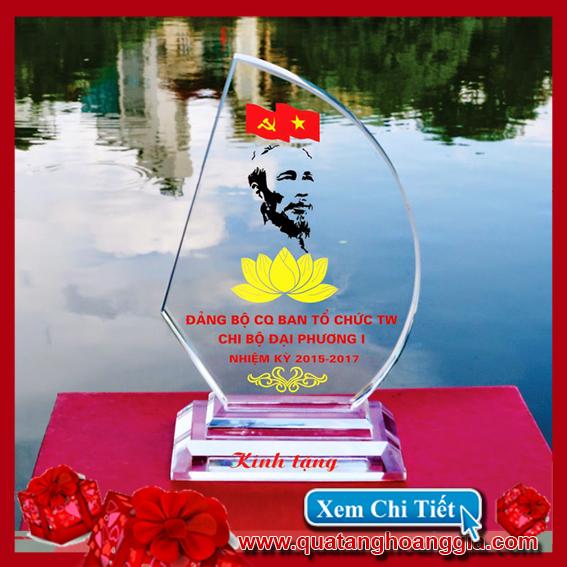 Quà tặng đại hội đảng - Kỷ niệm chương pha lê 20