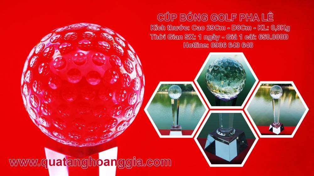 Cúp Golf Pha lê
