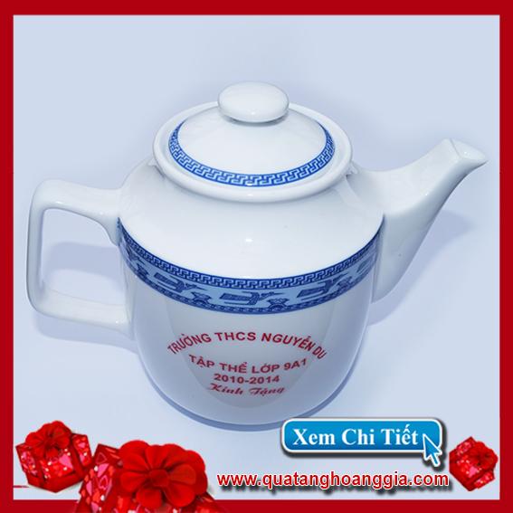Bộ ấm pha trà | Quà tặng họp lớp 3
